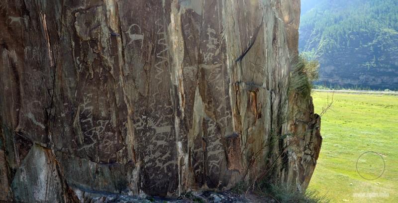Археологический комплекс Адыр-Кан, Алтай, петроглифы