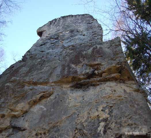 Сокильский хребет. Татарское святилище, Большой Рожен I петроглифы