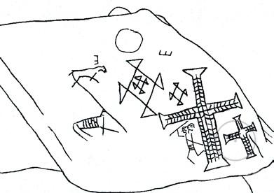 Верхний Ясенив, петроглифы