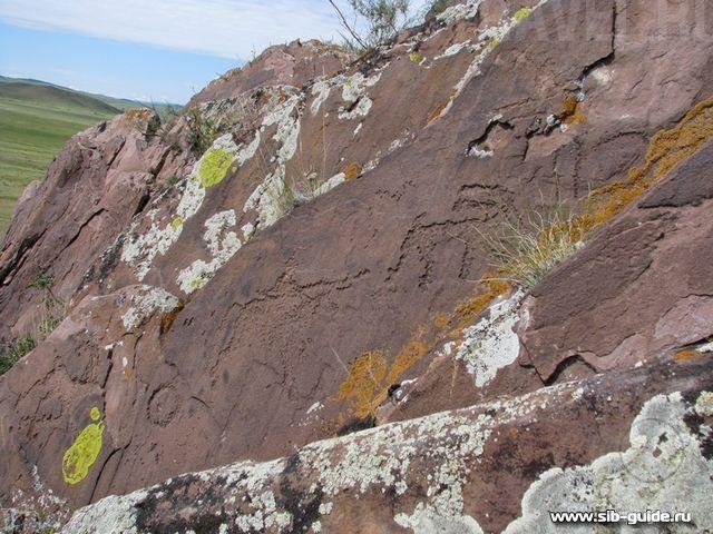 Гора Сыын-Чурээ, Республика Тыва петроглифы