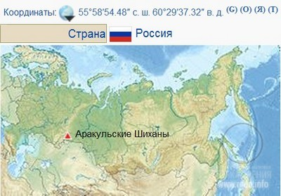 Аракульские Шиханы, Урал, Россия