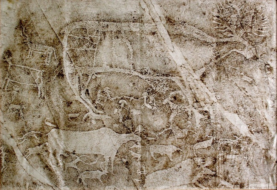 кавказ петроглифы