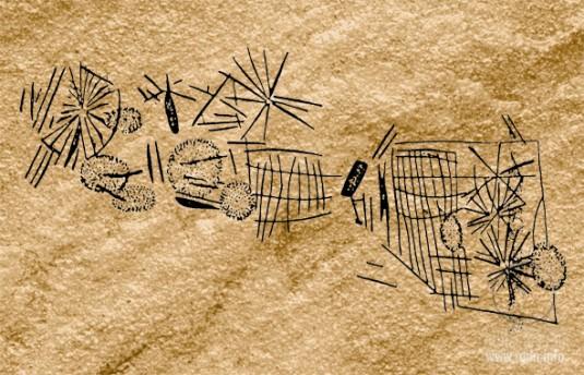 Капчугай (Дагестан) петроглифы