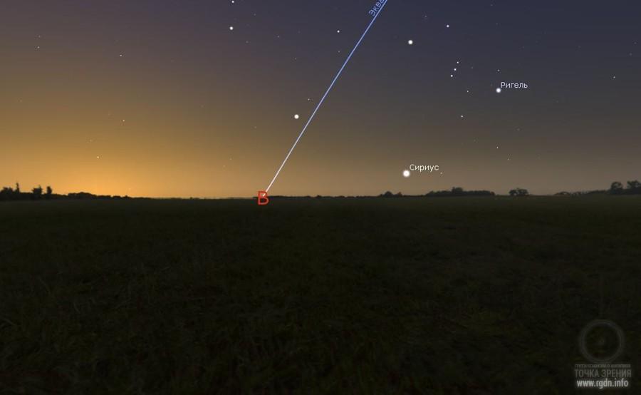 звезда Сириус гелиакический восход