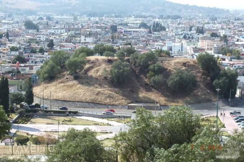 пирамида Чолула, Тлачиуальтепетль, холм