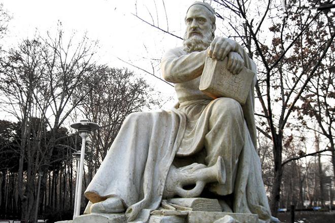 Памятник Омару Хайяму в Нишапуре, Иран