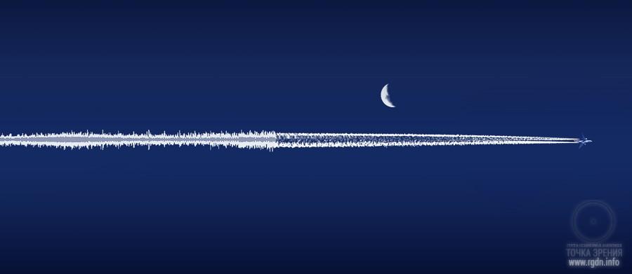 звук небо самолет