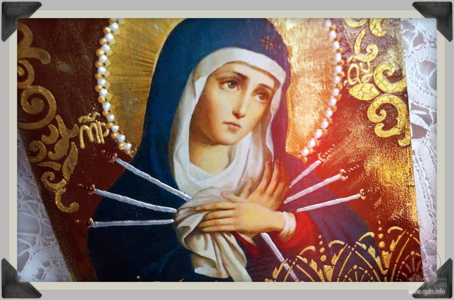 Пресвятая Богородица, семистрельная