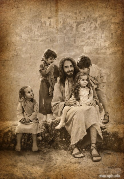 Jesus Christ in the present, photo