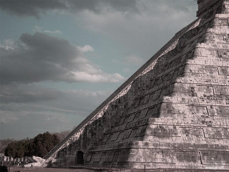 фото Храма Кукулькана в городе Чичен-Ица