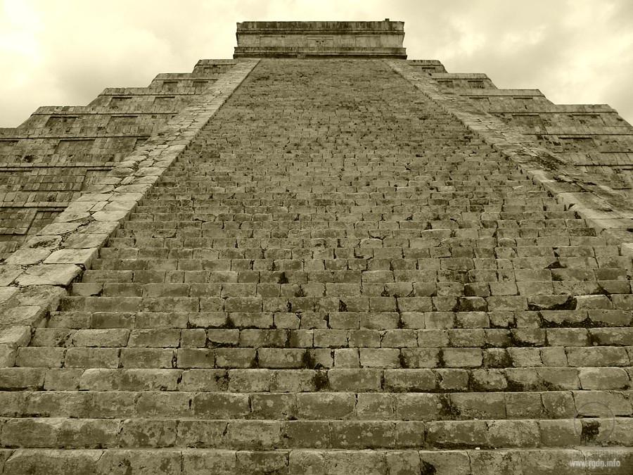 храм кукулькан фото