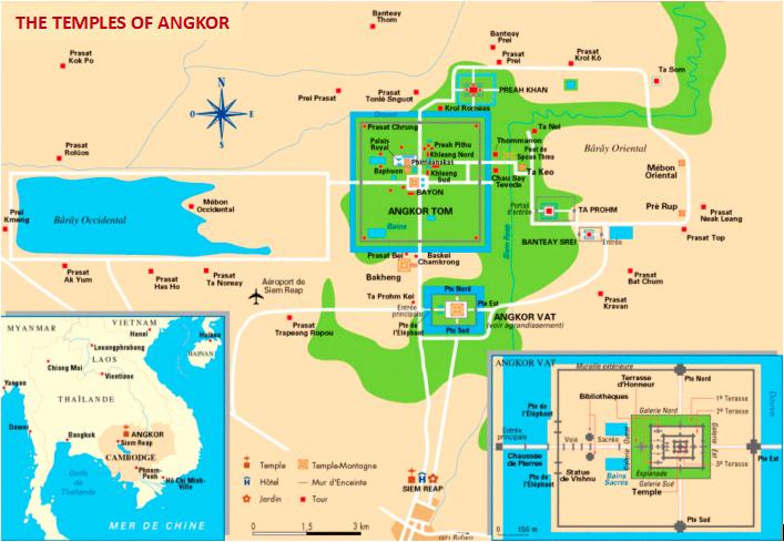 The Revealed Secrets Of Angkor And Giza Plateau The Pendulum Of - Map of egypt giza pyramids