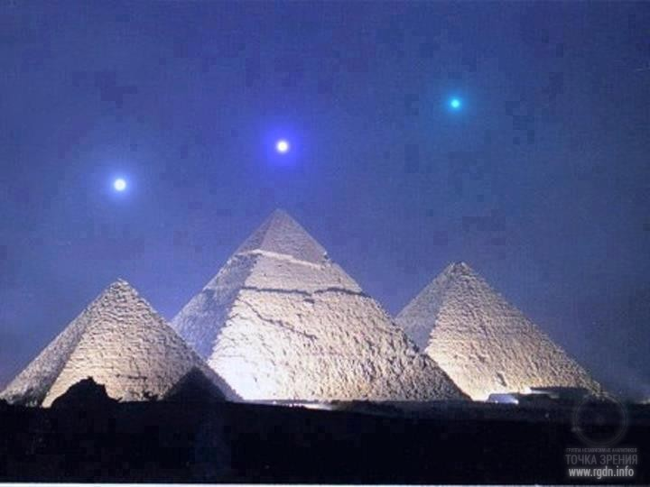 Orion's belt is connected with the pyramids of Giza