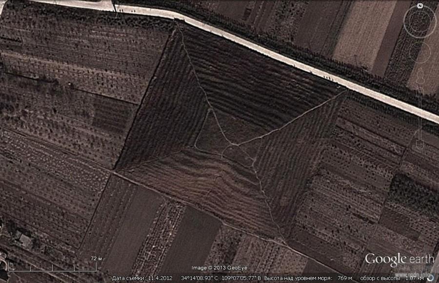 пирамиды китая, фото