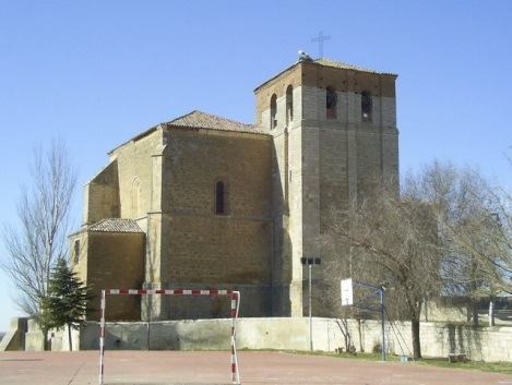 Tierra de Campos. Church of Our Lady of Bethlehem