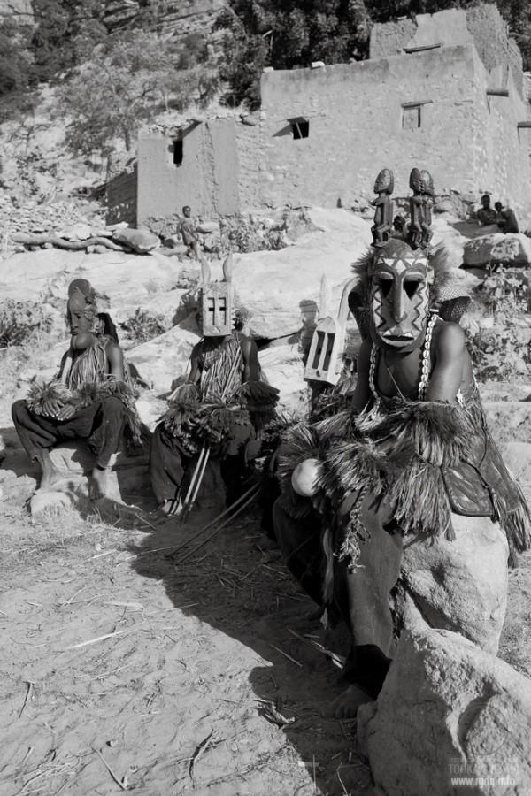индейцы племени догонов