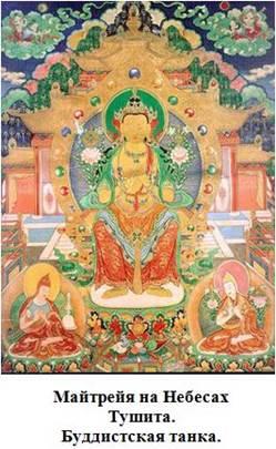 Майтрейя, буддистская танка