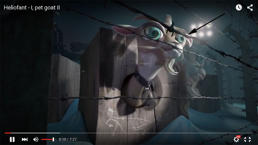 Decryption of I, Pet Goat II prophetic animated video