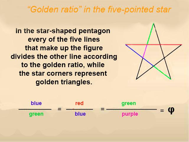 Star The Golden Ratio Part 1